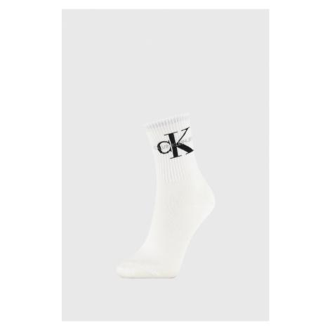 Damskie skarpetki Calvin Klein Bowery białe