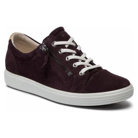 Sneakersy ECCO - Soft 7 W 43085302385 Figue
