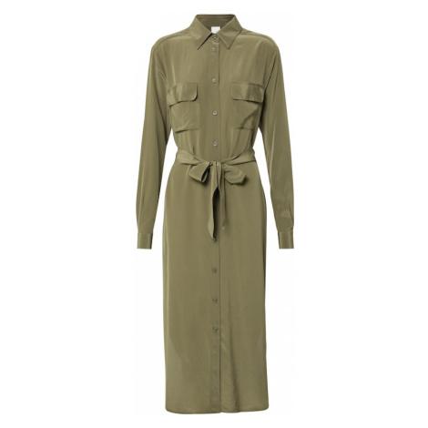 BOSS Suknia wieczorowa khaki Hugo Boss