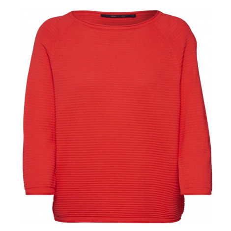 ONLY Sweter 'ONYPOPPY' wiśniowo-czerwony