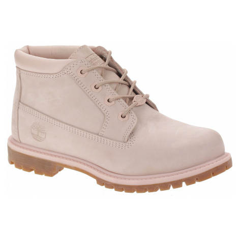 buty Timberland Nellie Chukka Double Waterproof - A1S7S/Light Pink Nubuck