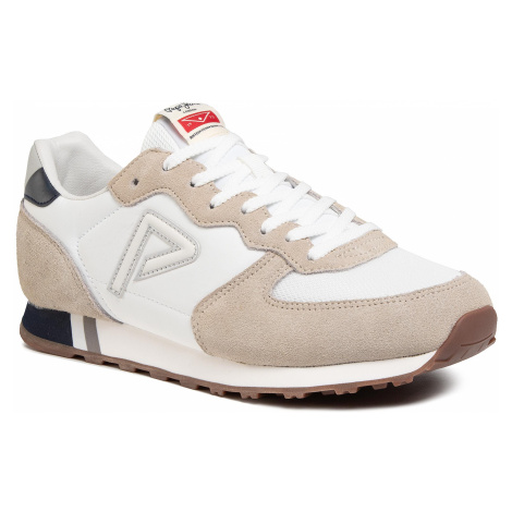 Sneakersy PEPE JEANS - Klein Archive Summ PMS30610 Factory White 801