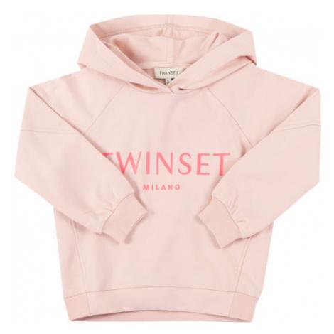 TwinSet Bluza 201GJ2373 D Różowy Regular Fit