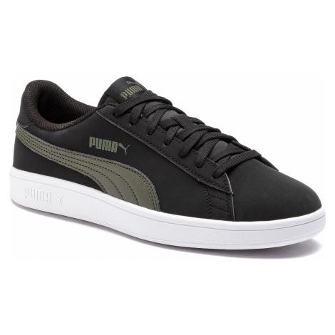 Sneakersy PUMA - Smash V2 Buck 365160 05 Puma Black/Puma Black