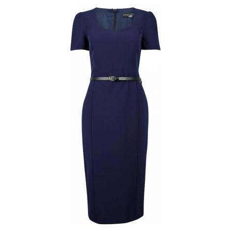 Dorothy Perkins Sukienka etui ciemny niebieski