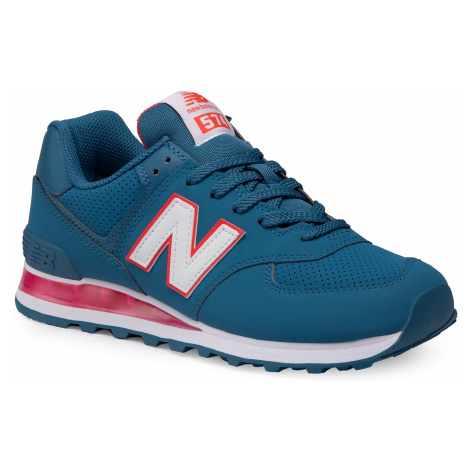 Sneakersy NEW BALANCE - ML574EWW Niebieski