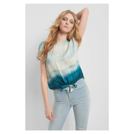 Bluzka tie-dye Orsay