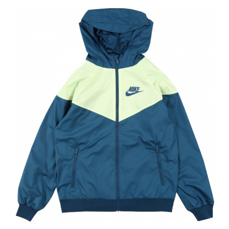 Nike Sportswear Kurtka przejściowa niebieski / żółty