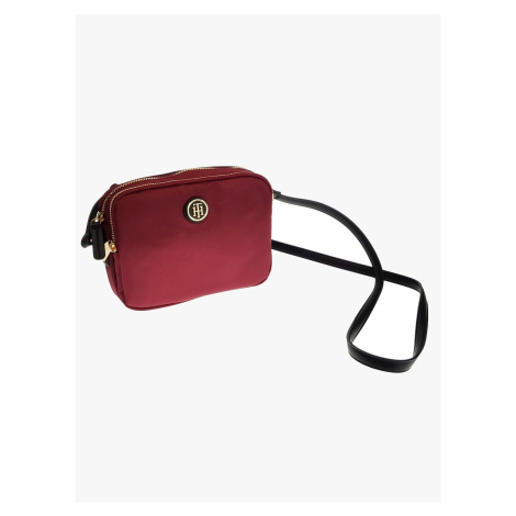 """Tommy Hilfiger """"Poppy Crossover Solid"""" Red"""