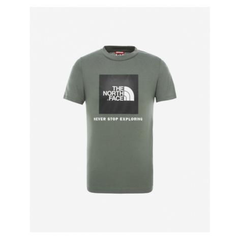 The North Face Box Koszulka dziecięce Zielony