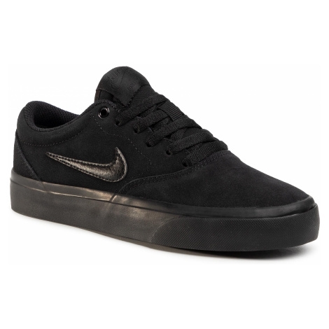 Buty NIKE - Sb Charge Suede (Gs) CT3112 001 Black/Black/Black