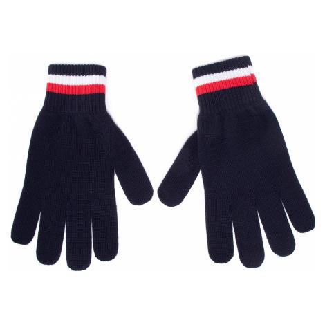 Rękawiczki Męskie TOMMY HILFIGER - Corporate Gloves AM0AM06586 DW5
