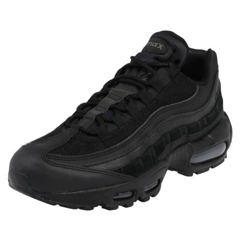 Nike Sportswear Trampki niskie ciemnoszary / czarny
