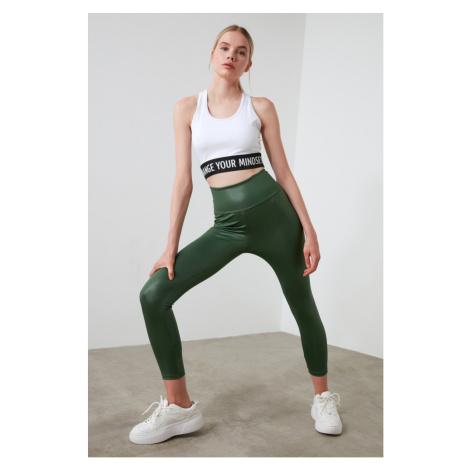 Trendyol Green Seam Sports Tights