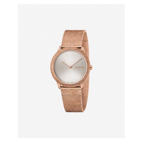 Calvin Klein Minimal Zegarek Złoty