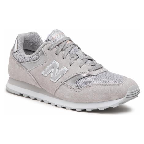 Sneakersy NEW BALANCE - WL393MET Szary