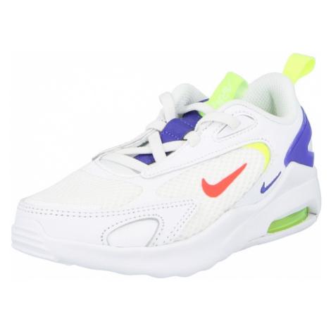 Nike Sportswear Trampki 'Air Max Bolt' biały / czerwony / granatowy