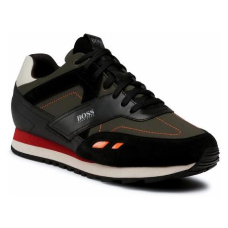 Boss Sneakersy Parkour 50439540 10230279 01 Czarny Hugo Boss