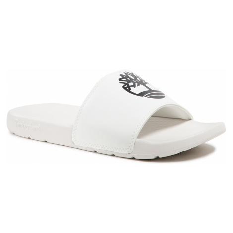 Klapki TIMBERLAND - Playa Snds TB0A24WN100 White W Black