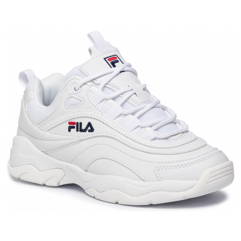 Sneakersy FILA - Ray Low 1010562.1FG White