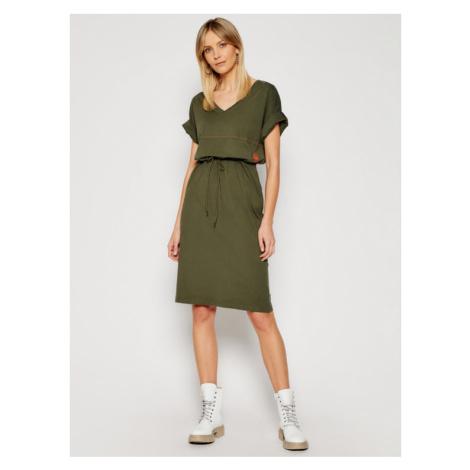 G-Star Raw Sukienka codzienna Adjustable Waist D19289-B771-723 Zielony Regular Fit