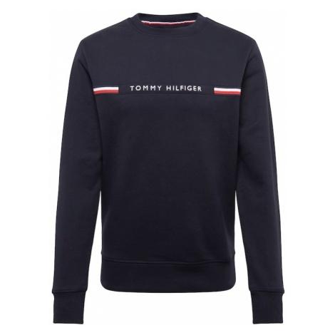 TOMMY HILFIGER Bluzka sportowa granatowy / czerwony / biały