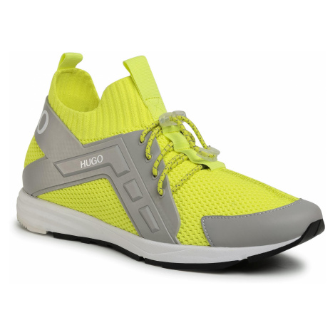 Sneakersy HUGO - Hybrid 50433050 10227421 01 Bright Yellow 730 Hugo Boss