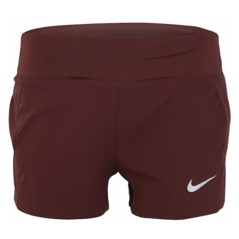 NIKE Spodnie sportowe 'TRIUMPH' bordowy