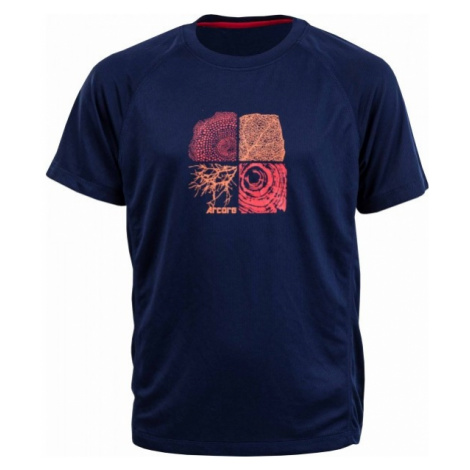 Arcore TOMI niebieski 116-122 - Koszulka funkcjonalna chłopięca