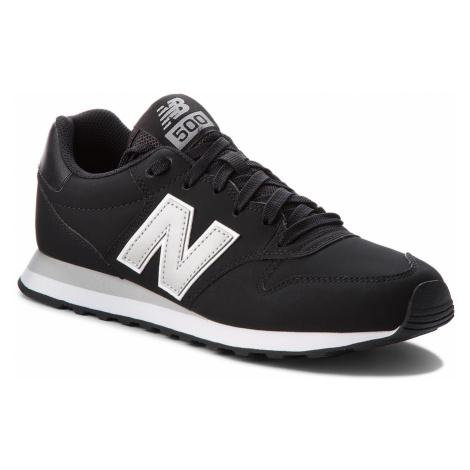 Sneakersy NEW BALANCE - GM500BKG Czarny