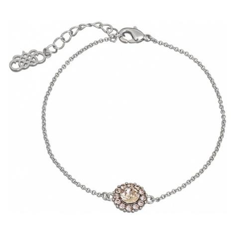 LILY AND ROSE Opaska 'Celeste' różowy pudrowy / srebrny