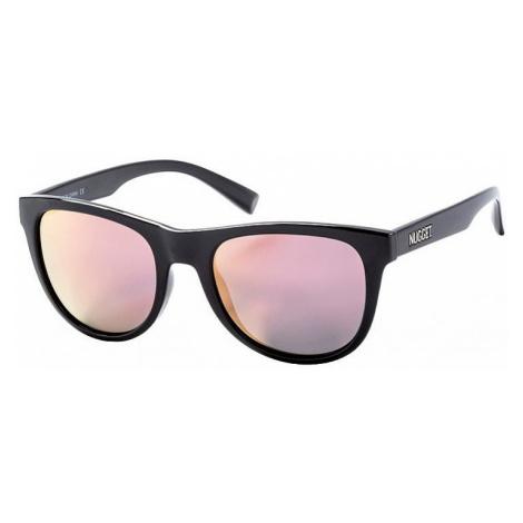 okulary Nugget Whip 2 - E/Black Glossy/Rose/Polarized