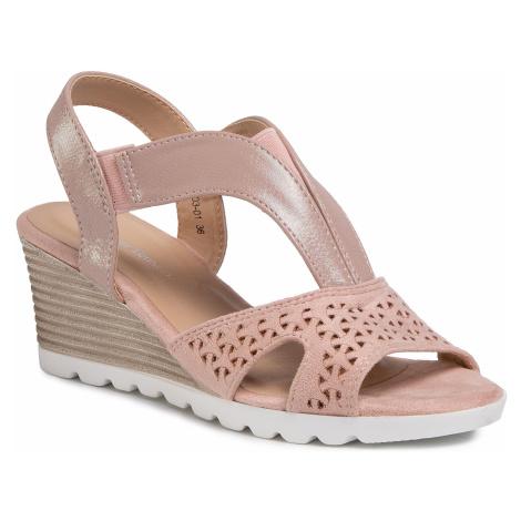 Sandały CLARA BARSON - WS003-01 Pink