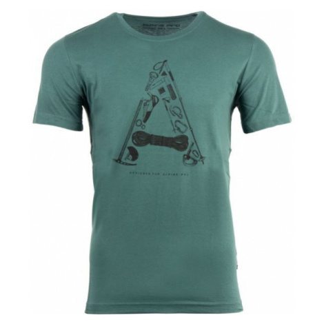ALPINE PRO TITAN zielony S - Koszulka męska