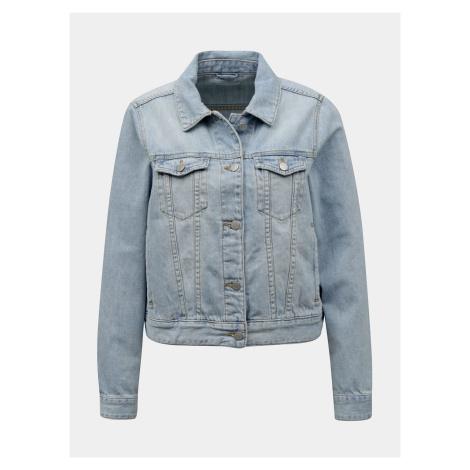 Vila jasno niebieska kurtka dżinsowa Rosabell