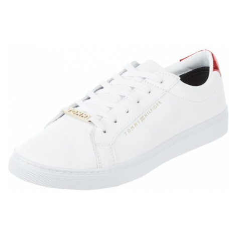 Sneakersy ze skóry Tommy Hilfiger