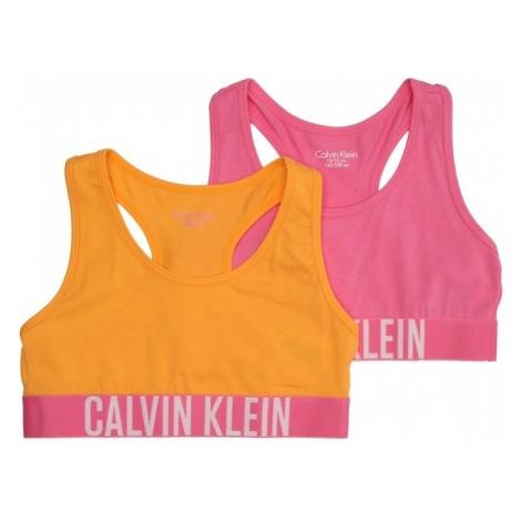 Calvin Klein Underwear Biustonosz żółty / różowy pudrowy / biały