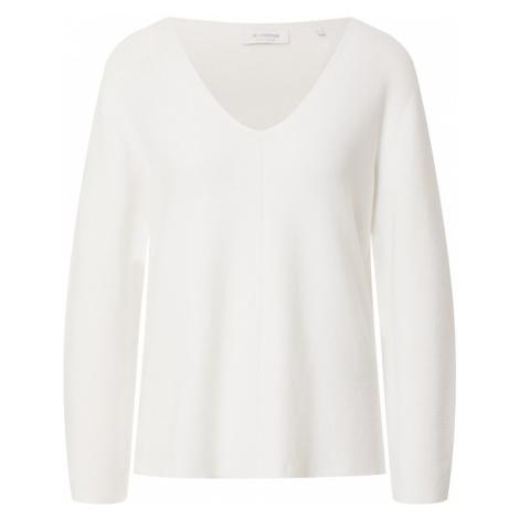 Rich & Royal Sweter biały