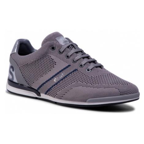Boss Sneakersy Saturn 50432830 10227355 01 Szary Hugo Boss