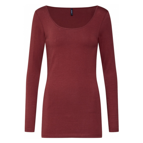 VERO MODA Koszulka rdzawobrązowy