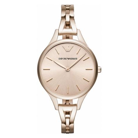 Zegarek EMPORIO ARMANI - Aurora AR11055 Pink/Pink