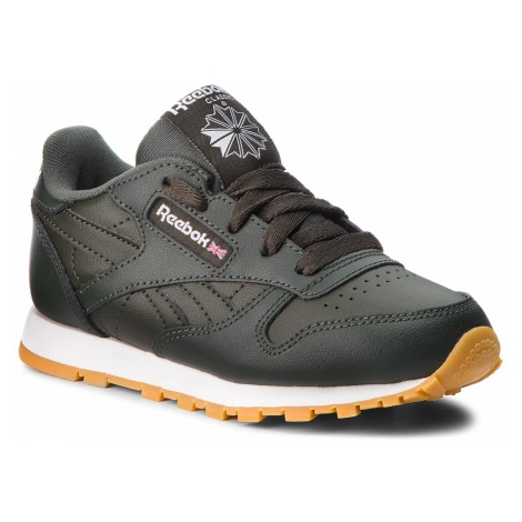 Buty Reebok - Classic Leather CN5614 Dark Cypress/White