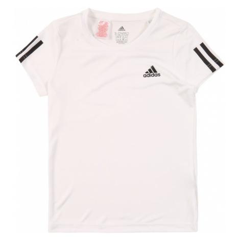 ADIDAS PERFORMANCE Koszulka funkcyjna 'Young Girl' biały / czarny