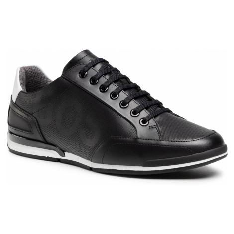 Sneakersy BOSS - Saturn 50452031 10231638 01 Black 001 Hugo Boss