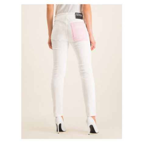 Versace Jeans Couture Jeansy Slim Fit A1HVA0SH Biały Slim Fit