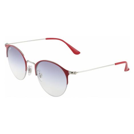 Ray-Ban Okulary przeciwsłoneczne podpalany niebieski / bordowy