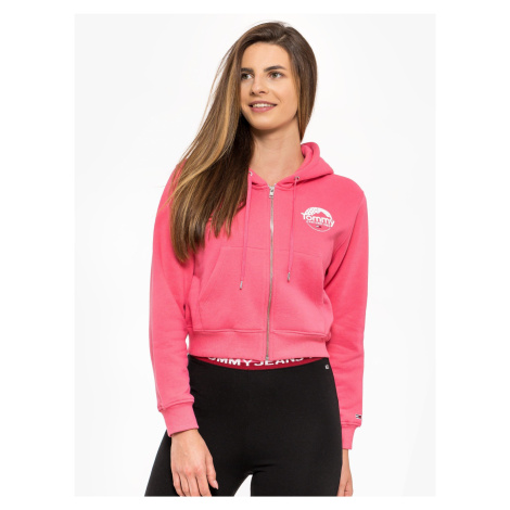 "Tommy Jeans ""Cropped Logo"" Pink Tommy Hilfiger"