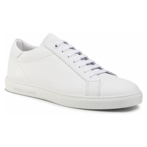 Sneakersy EMPORIO ARMANI - X4X272 XF375 00001 White