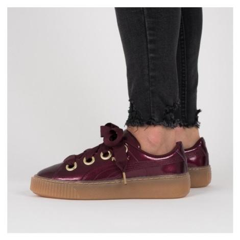 Buty damskie sneakersy Puma Basket Platform Kiss 366822 01