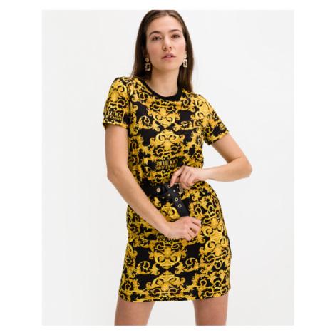 Versace Jeans Couture Sukienka Czarny Żółty